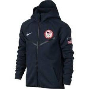 Nike Youth Sweatshirt USA Olympic Team Embroidered